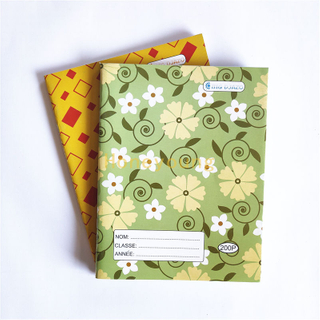 Saddle Stitched Writting Exercise Book Beautiful Designs Custom Exercise Book Manufacturer FEB-6