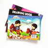 21X29.7cm 30 Pages Cute Drawing Book for School Students with Plastic Spiral DWB-2