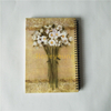 Different Sizes Flower Cover Hard Cover Double Spiral Notebook for High School Use SN-17