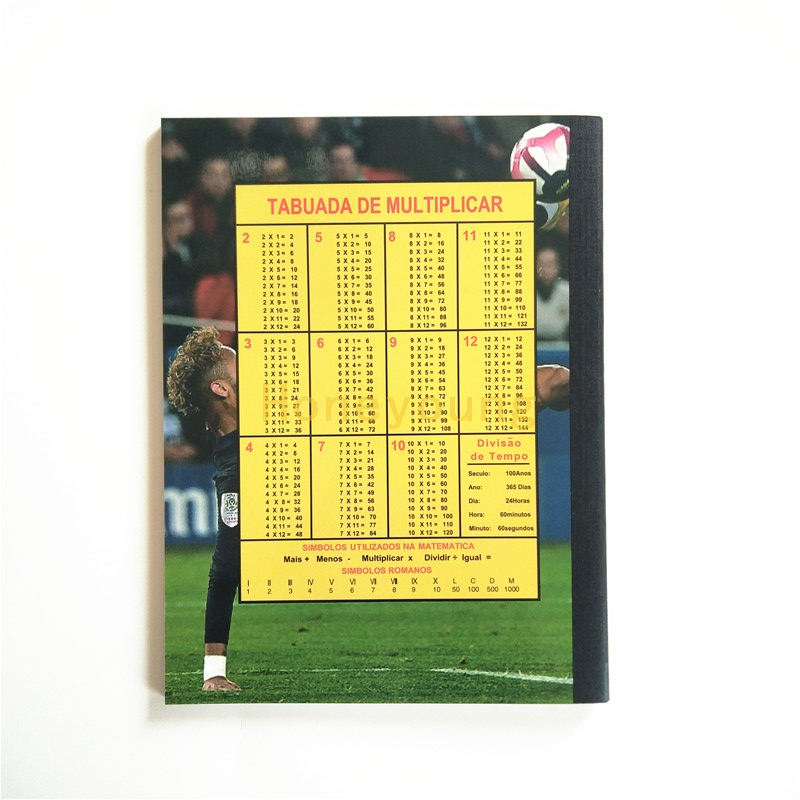 Soccer Star Cover Custom Design Compositiom Book for School Student CB-3