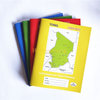 Different Colors Map Cover French Line Chad School Exercise Book FEB-9